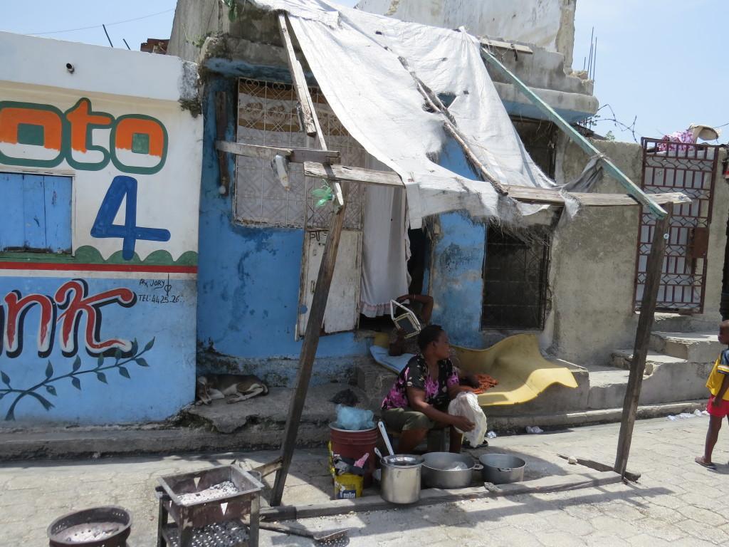 A capital haitiana concentra quase metade da população do país. Porto Príncipe, Haiti. Foto: Miriane Peregrino
